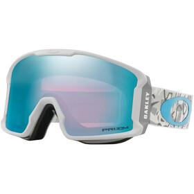 Oakley Line Miner XM Snow Goggle Camo Vine Snow/Prizm Snow Sapphire Iridium